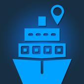 Ship Locator icon