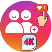 4K Followers -- followers& Likes for Instagram icon