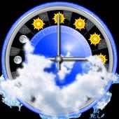 Weather, rain radar, barometer - eWeather HDF icon