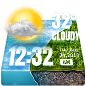 Hourly Weather Widget for 2018 icon