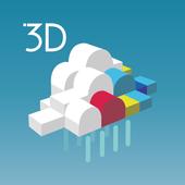 3D雨雲ウォッチ〜次世代レーダでゲリラ豪雨・台風・天気を確認 icon