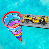 Gt Formula Car Racing Stunts : Impossible Tracks icon