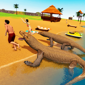 Komodo Dragon Family Sim icon
