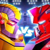 Steel Robot Ring Fighting icon
