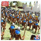 Medieval Wars: Hundred Years War 3D icon