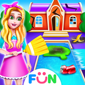 Celebrity House Clean Up-Girl House Tidy Up Game icon