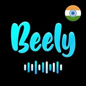 Beely™ : Black BG Lyrical Video Status & Slideshow icon
