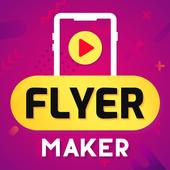 Flyer Maker, Poster Maker For Video Marketing icon