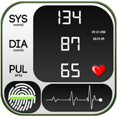 Blood Pressure Tracker : BP History Checker Diary icon