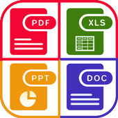 WPS PDF, Word, Excel,PowerPoint Office Suite, 2020 icon