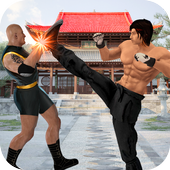 Real Superhero Kung Fu Fight - Karate New Games icon