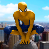 Spider Hero - Super Crime City Battle icon