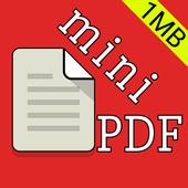 Mini Pdf Reader & Viewer (Ads Free) icon