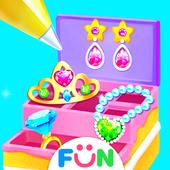 Makeup Box Comfy Cakes - Girls Makeup Kit Games icon