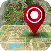 Live GPS Satellite View Maps & Voice Navigation icon