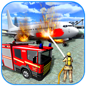 American Fire Fighter 2019: Airplane Rescue icon