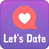 Let's Date - chat, meet, love icon