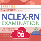 SAUNDERS Q&A REVIEW FOR NCLEX-RN® EXAMINATION  icon