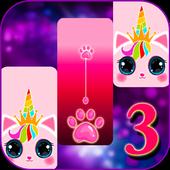 Cat Unicorn Piano Tiles 2020: kpop Music Game icon