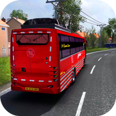 Euro Coach Bus Simulator 2020 : Bus Driving Games icon