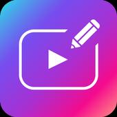 Text on Video: Vont & Phonto editor -Bizny icon