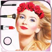 Beauty makeup editor photo icon
