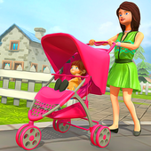 Virtual Happy Family Mother Game icon