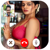 Indian Hot Bhabhi Video Chat - Hot Girls Chat icon