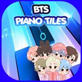 BTS - Piano Tiles Dynamite icon