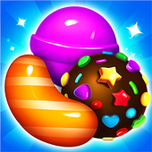 Sweet Candy Sugar: Match 3 Puzzle 2020 icon