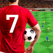 Soccer ⚽ League Stars: Football Games Hero Strikes icon