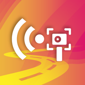 Radar, Map, Navigation, Head-Up Display, Speed Cam icon