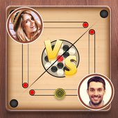 Carrom board game - Carrom online multiplayer icon