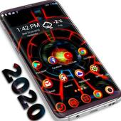 3D 2020 Theme For Android icon