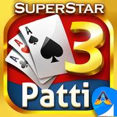 Teen Patti Superstar - 3 Patti Online Poker Gold icon