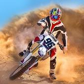 Motocross Dirt Bike stunt racing offroad bike game icon