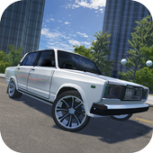 Russian Car Lada 3D icon