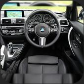 POV Car Driving icon