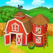 Farm Town: Happy village near small city and town icon