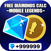 Free Diamonds Counter for Mobile Legendss™ | 2020 icon