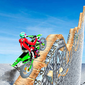 Snow Tricky Bike Impossible Track Stunts 2020 icon