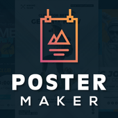Poster Maker, Flyer Maker, Graphic Design App icon