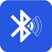 Bluetooth audio device widget - connect, play icon