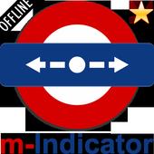 m-Indicator icon