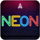 Apolo Neon - Theme Icon pack Wallpaper icon