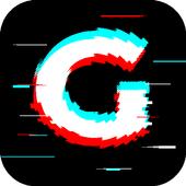 Glitch Photo Editor - Glitch Video, VHS, Vaporwave icon