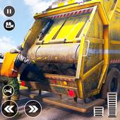 City Trash Truck Simulator: Dump Truck Games icon