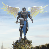 Crime Angel Superhero - Vegas Air Strike icon