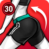 Buttocks Workout - Hips, Butt Workout icon