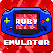 The G.B.A Ruby Color Emu icon